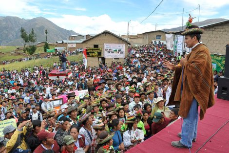 BLOG: LEFT ONLY WITH RHETORIC IN PERU