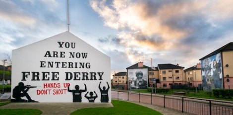 Free Derry corner, Northern Ireland